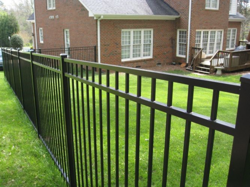 Wrought Iron Fence Front Yard